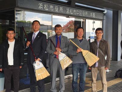この日、JAとぴあ浜松 青壮年部様とアズマ工業、約30名以上の方が応援に来てくださいました。